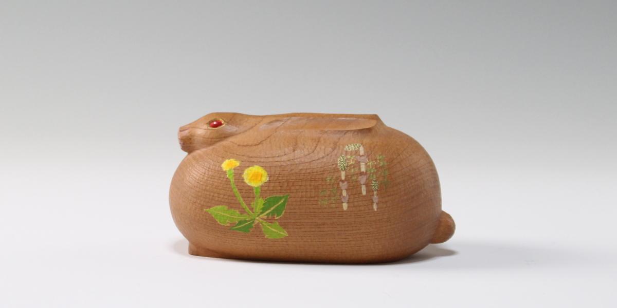 木彫干支の置物 井波彫刻・彫刻体験の谷口信夫工房